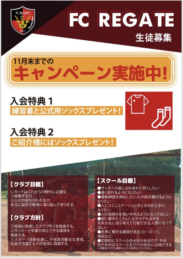 【お知らせ】11月末までのキャンペーン!