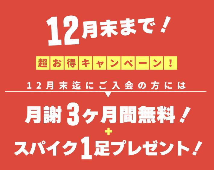 レガッテサッカースクール12月末まで超お得キャンペーン!!